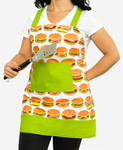 Pattern Lined Apron