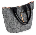 Pattern Crescent Tote