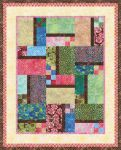 Pattern Patchwork Bouquet: Scrappy colorstory