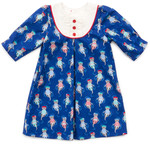 Pattern Playdate Dress: Sizes: 6M-18M