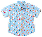 Pattern Sketchbook Shirt: Sizes: 6M-3T