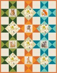 Pattern Frolicking Fellows: Natrual