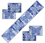 Pattern Flutter Fancy Placemats and Table Runner