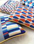 Fabric Geo Pop Pillows