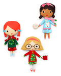 Fabric Girl Friends Holiday Clothes