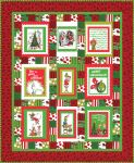 Fabric Merry Grinchmas panel quilt