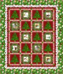 Fabric Santy Claus Wreaths