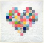 Pattern Pixelated heart