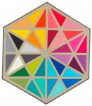 Pattern Prismatic Medallions: 30 inch