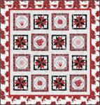 Peggy Toole Holiday Flourish 12 Holiday Roll Up 2.5 Precut Metallic Fabric Quilting Strips Lunn Studios RU-823-40