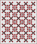 Pattern The Carol Quilt: Scarlet