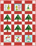 Fabric Grinch Forest