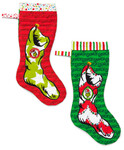 Pattern Grinch Christmas Stockings