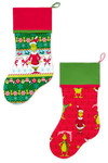 Pattern Sleigh Bell Stockings