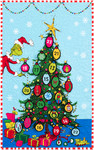 Pattern Grinchmas Tree Countdown