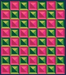 Pattern Checkered Tiles: Melon