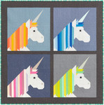 Pattern Lisa the Unicorn Pillow: Lap Quilt