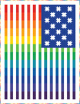 Pattern Rainbow Flag