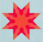 Pattern Red Star