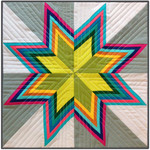 Pattern Striped Starburst