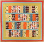Fabric Little Kukla quilt