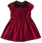 Pattern Peter Pan Collar Dress: Sizes: 3M - 24M