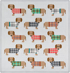 Pattern Dogs in Sweaters