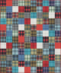 Pattern Simple Squares: New Colors 2020