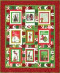 Pattern Merry Grinchmas panel quilt