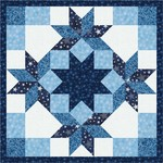 Fabric Winter's Granduer Mini Quilt 1