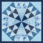 Fabric Winter's Granduer Mini Quilt 2