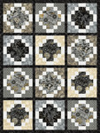 Pattern Moonlight Tiles: Charcoal