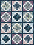 Pattern Moonlight Tiles: Indigo
