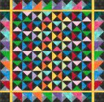 Fabric Quarter Square