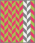 Pattern Herringbone: Bright