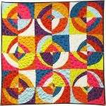 Fabric Scrappy Circles