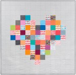 Fabric Pixelated Heart