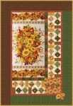 Fabric Seasonal Bouquet - Wall Hanging and Tablerunner