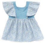 Pattern Mori Top: Sizes: 6M-18M