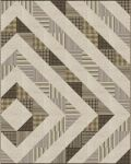 Pattern Asymmetrical Diamond: Taupe colorstory