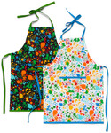 Fabric Splatter Kids Apron