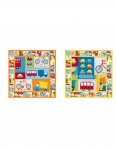 Pattern Stop N Go Pillow Set: Bermuda