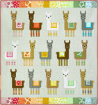 Fabric Little Llamas