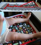Fabric Superhero Changing Mat