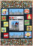 Fabric Superhero Quilt