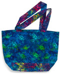 Pattern Reversible Tote Bag ab: Reversible Tote Bag