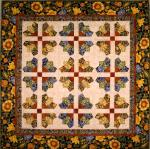 Fabric Tuscan Wildflower