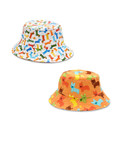 Pattern Reversible Bucket Hat