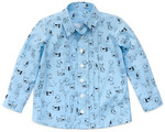 Pattern Charlie Button Up: Sizes: 6M