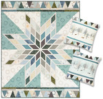 Pattern Shimmering Lonestar Quilt and Pillows